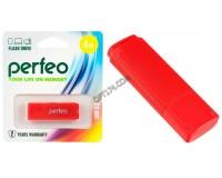 Флэш диск 4 GB USB 2.0 Perfeo C04 Red с колпачком