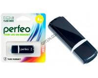 Флэш диск 4 GB USB 2.0 Perfeo C02 Black с колпачком
