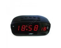 Часы VST 803-1 эл. будильник, t, красные цифры+ блок