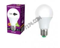 Лампа светодиодная Perfeo A60 12Вт 220В E27 3000K