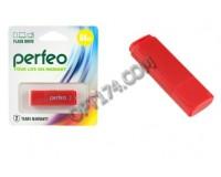 Флэш диск 64 GB USB 2.0 Perfeo C04 Red с колпачком