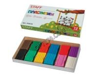 Пластилин Пифагор 103678 количество цветов в наборе: 12 цветов масса: 120 г картонная упаковка