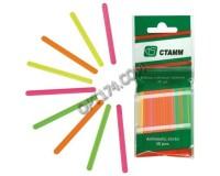 Счетные палочки СТАММ 103784 СП01 многоцветные 30шт., размер - 10х65х140 мм, пакет с европодвесом