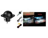 Автовидеокамера TDS TS-CAV02 (HAD-41) разрешение:420ТВЛ NTSC:510(H)x492(V) угол обзора до 170, IP66, видео выход: RCA