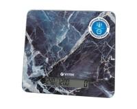 Весы кухонные Vitek VT-8022 электронные, цена деления 1 г. max 5 кг. дисплей 95х19мм, индикатор перегрузки, автоотключение, платформа 20х18.5см, черные