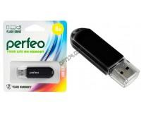 Флэш диск 8 GB USB 2.0 Perfeo C03 Black с колпачком
