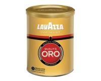 Кофе молотый LAVAZZA 621140 Qualita Oro 250 г., натуральный, арабика 100%, средняя степень обжарки, жестяная банка, 2058