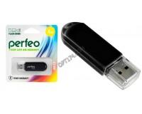 Флэш диск 4 GB USB 2.0 Perfeo C03 Black с колпачком