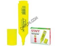 Маркер текстовый STAFF 150728 скошенный наконечник 1-5 мм цвет чернил: лимонный
