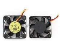 Вентилятор для корпуса Gembird D40SM-12A 40x40x10мм, 3pin, провод 7 см, втулка