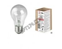 Лампа Эра А50 40Вт E27 225-235V , прозрачная, в гофре