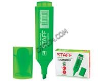 Маркер текстовый STAFF 150727 скошенный наконечник 1-5 мм цвет чернил: зеленый