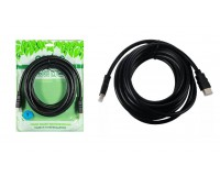 Кабель HDMI-HDMI Perfeo 5м. ver.1.4b, пакет, черный (H1005)