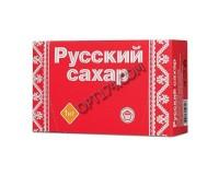Сахар рафинад Русский 620433 1000 г., (196 кусочков, размер 15*16*21мм), картонная упаковка, ш/к 0127