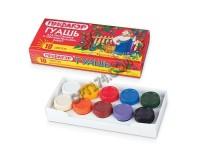 Гуашь Пифагор 190289 объем 200 г., количество цветов: 10, картонная коробка