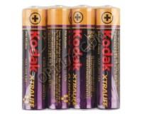 Батарейка Kodak LR3 Shrink 4 XTRALIFE