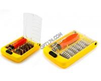 Набор инструментов Cablexpert TK-SD-03 35 предметов 9 торкс, крестовые Philips, 8 шестигранных, плоские и тд. пластиковый бокс