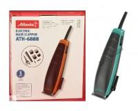 Набор для стрижки Atlanta ATH-6888 9Вт, 4 насадки, голубой