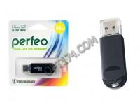 Флэш диск 64 GB USB 2.0 Perfeo C03 Black с колпачком