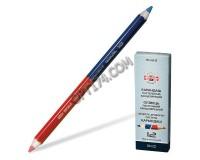 Карандаши цветные KOH-I-NOOR 3423 Диаметр грифеля -3.8 мм утолщенный, красно-синий (180874)