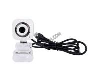 Web Camera Perfeo PF-5032 / PF-A-39-B 2 МПикс White/Black с микрофоном, 640x480, коробка