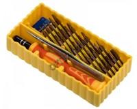 Набор инструментов Fatick 7038B 29 насадок, пинцет
