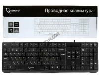 Клавиатура Gembird KB-8352U-BL USB Black 105 клавиш дополнительная клавиша