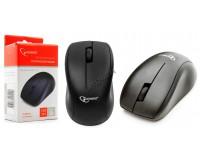 Мышь беспроводная Gembird MUSW-100 USB Optical (1200dpi) черная, 2 кнопки+кнопка-колесо, коробка