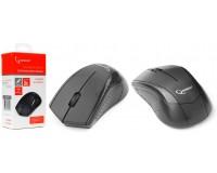 Мышь беспроводная Gembird MUSW-305 USB Optical (1000dpi) черная, 2 кнопки+кнопка-колесо, коробка