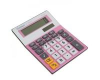 Калькулятор Gaona DS-8800A настольный, 8 разрядный, размер 15х11 см, розовый