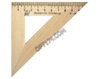 Треугольник - С138 шкала 11 см, угол 45, деревянный УЧД (210155)