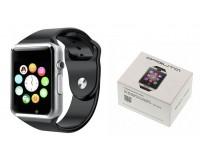 Часы Smart Орбита WD-06 слот для SIM, TF, Bluetooth, шагомер, счетчик калорий, серебро