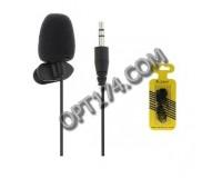 Микрофон KUBITE 02 для ноутбука, гибкий, длина 150 см, блистер