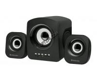 Акустические системы 2.1 Defender Z6 5+2X3Вт FM/MP3/USB питание от USB, деревянный корпус сабвуфера, черные (65529)