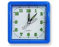 Часы будильник - YP924 67CL-12-403 квадратные, 10х10 см. (55101)
