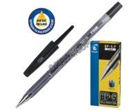 Ручка шариковая Pilot BP-S-F толщина линии 0.32 мм корпус прозрачный, граненый, чернила на масляной основе цвет чернил: черный(141848)