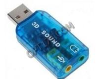Звуковая карта TRUA3D (C-Media CM108) 2.0 Ret внешняя через USB (ASIA USB 6C V)