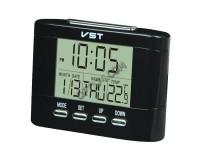 Часы VST 7051T время, дата, будильник, температура, говорящие, 9 х 7 х 2 см