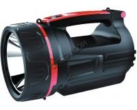 Фонарь-прожектор Спутник AFP810-10W 1х10Вт светодиод, аккумулятор 3500mAh 4V чёрный