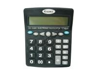 Калькулятор Gaona DS-1048H настольный, 12 разрядный, размер 15, 5х19, 5 см, черный