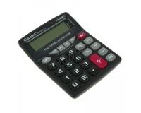 Калькулятор Gaona DS-222S-12 настольный, 12 разрядный, размер 12, 5х16 см, черный