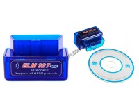 Диагностический адаптер автомобильный ELM327 Bluetooth Орбита TS-CAA37 (С30) (OBD2, V1.5 на чипе PIC18F25k80)