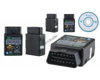 Диагностический адаптер автомобильный ELM327 Bluetooth Орбита TS-CAA38 HH OBD Advanced (OBD2, V1.5)