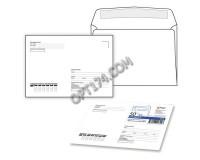 Конверт почтовый КУРТ 251.50 формат C5 (162х229мм), вместимость - листы формата A5 или A4 в сложенном виде, 50 шт. (124199)