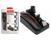 Набор для стрижки Atlanta ATH-6922 5Вт, 6 насадок, аккумуляторный , Ni-Mh 600mA, индикатор зарядки, триммер, черный