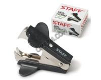 Антистеплер STAFF 224628 размер скоб: для скоб № 10 и № 24/6 черный