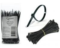 Хомут нейлоновый Gembird 3.6x150 мм морозостойкий, упаковка 100 шт. черный (NYTFR-150x3.6)