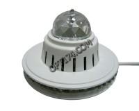 Световая установка Огонек LD-16 RGB светодиоды (16шт красных, 16шт синих, 16шт зелёных), размер: 12.5 х 8 см, питание 220В, длина шнура 0.8 м