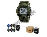 Часы наручные Skmei 1019 электронные (дата, будильник, секундомер), пластик, подсветка