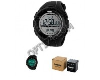 Часы наручные Skmei 1025 электронные (дата, будильник, секундомер), пластик, подсветка